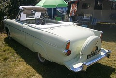 Anglia convertible with continental kit and spats. (Sidmouth Ian) Tags: fordanglia 105e