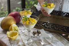 La merienda (Ivannia E) Tags: yogurt mango maracuyá fruits frutas merienda morning healthtylifestyle healthtyfood delicioso desayuno breakfast yellow foodphotography