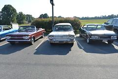 Classic Cars Corvair Club Hoyt's Restaurant Lexington, NC 20170710_4254 (Shane's Flying Disc Show) Tags: classiccars corvairclub davidson nc lexinton unsafeatanyspeed daredevils