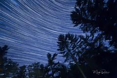 Stars over Three Lakes (Tworedheads01) Tags: startrails stars night canon6d rokinon 14mm f28 starstax longexposure northwoods