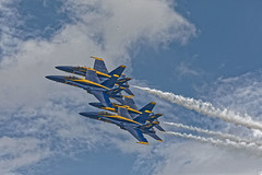 Blue Angels Air Show (HDR's Photos) Tags: usnavy blueangels demostrationteams fa18hornet newburghny airshow