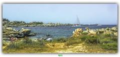 IN  A DIFFERENT PLACE (régisa) Tags: corse corsica lavezzi île lavezzo ride beach plage rock rocher bateau sailboat