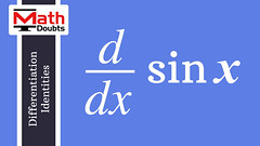 Derivative of sin x with respect to x (Math Doubts) Tags: derivative differentiation math maths mathdoubts mathematics calculus sine trigonometry
