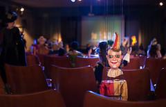 Il nuovo pubblico (franco nadalin) Tags: giallo podrecca cividale marionette burattini
