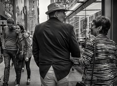 5th Ave (Roy Savoy) Tags: bw blackandwhite bnw streetphotography street nyc people roysavoy newyorkcity newyork blacknwhite streets streettog streetogs ricoh gr2 candid flickr explore candids city photography streetphotographer 28mm nycstreetphotography gothamist tog mono monochrome flickriver snap digital monochromatic blancoynegro