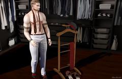 [CHUCK SIZE] Social Pants Dobby (⌘ Alexul Danick ⌘) Tags: sl secondlife slfashion slmenswear pants menswear menswearsl marketplace chucksize