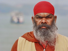Kolkata - Match head (sharko333) Tags: travel voyage reise street india indien westbengalen kalkutta kolkata কলকাতা asia asie asien people portrait man cap olympus em1