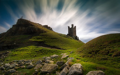 Dreams And Dedication Are A Powerful Combination (Adam West Photography) Tags: adamwest basalt castle cliff clouds drama dramatic dunstanburgh england grass lilburn longexposure northumberland rocks tower uk