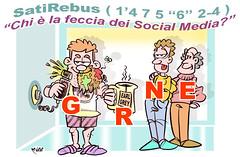 "SatiRebus ""social"" (Moise-Creativo Galattico) Tags: satirebus enigmistica satira rebus moise moiseditoriali ""editorialiafumetti"" ""comicsrebus"" rebussatirici web internet social facebook"