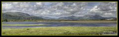 Porthmadog Hills (kevinwolves) Tags: porthmadog wales view kevinwolves pentax pentaxk100d hdr