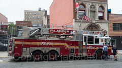 """FDNY """"Not to Worry"""" Ladder 55 Fire Truck, Melrose, New York City (jag9889) Tags: 2017 20170608 allamericacity apparatus architecture bravest bronx building fdny firedepartment firedepartmentofthecityofnewyork firehouse firestation firefighter firstresponder hook house ladder ladder55 laddertruck melrose ny nyc newyork newyorkcity newyorkcityfiredepartment newyorksbravest outdoor s041 seagrave southbronx squad thebronx truck usa unitedstates unitedstatesofamerica vehicle jag9889"""