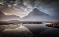 Strange reflections (pauls1502) Tags: winter glencoe buachailleetivebeag rannochmoor reflections mountains scottishhighlands scotland moorland moor loch landscape buachailleetivemor lochan argyll sunrise