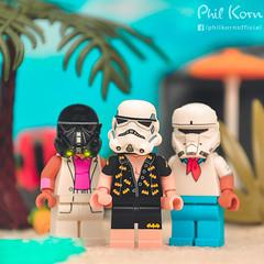 "First day at the beach be like... ""Yikes! I'm pale!"" (Phil Korn) Tags: lego lego365 legostarwars starwars scarif rogueone shoretrooper deathtrooper stormtrooper legography legoscoobydoo scoobydoo fred series17 afol nikon new beach sand ocean palms minifigues explore lucasfilm 75171 toyphotograpy toys4life art toys stuckinplastic legofriends thelegobatmanmovie legobatman funny"