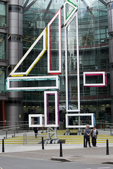 Channel Four headquarters (talltim1234) Tags: london media tv channel four horseferry road blocks number