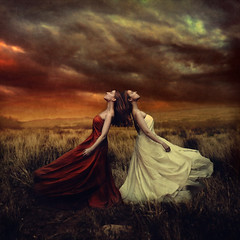 collisions (brookeshaden) Tags: brookeshaden fineartphotography conceptualart concept selfportrait fineart surrealism fantasy