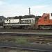 GM&O GP35 #608 in the Bloomington yard