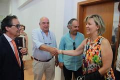 Autárquicas 2017: Maria Luís Albuquerque na apresentação de candidatura de Josué Bacalhau à Câmara Municipal de Vila Viçosa