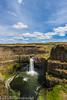 NT3.0091-WP170617_67162 (LDELD) Tags: palouse kahlotus washington palousefallsstatepark sunny clouds river canyon waterfall