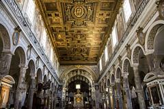Basilica of Santa Maria in Ara Coeli (Glenn Pye) Tags: basilicaofsantamariainaracoeli church churches romancatholic rome roma italy europe nikon nikond7200 d7200