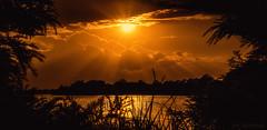 Divine Inspiration (JDS Fine Art Photography) Tags: inspiration divine divineinspiration sky dramatic clouds sunset sun rays lightrays nature landscape beauty naturesbeauty cloudscape skyscape golden lake