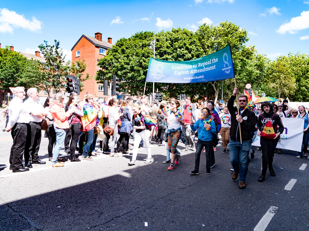 LGBTQ+ PRIDE PARADE 2017 [ON THE WAY FROM STEPHENS GREEN TO SMITHFIELD]-130068