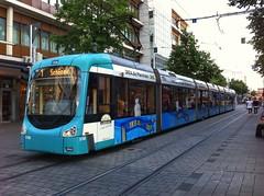 Variobahn (sander_sloots) Tags: variobahn adtranz tram mannheim tramway streetcar strasenbahn ikea f1