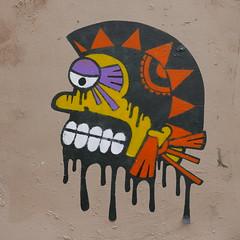 Montmartre street art (neppanen) Tags: sampen discounterintelligence paris pariisi france ranska montmartre streetart painting maalaus