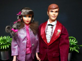 Barbie Dinner Dazzle Set 1968