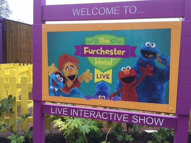 The Furchester Hotel Live Entrance Sign