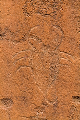 Scorpion (W9JIM) Tags: w9jim rockart petroglyph canyonlands hwy211 7d 24105l scorpion