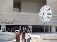 Polanco / Plaza Carso - Jumex Museum Clock / Andy Warhol Exhibit (ramalama_22) Tags: mexico city ciudaddemexico polanco plaza carso jumex museum museo warhol art clock jersey juice nectar ecatepec industrial area kerns jugos mexicanos contemporary arte jeffrey koons andy