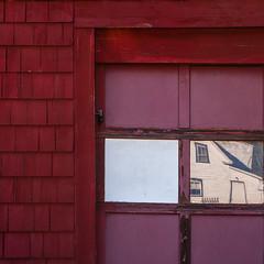 (jtr27) Tags: sdq2549ft01e jtr27 sigma sd quattro sdq foveon 50mm f28 ex dg macro manualfocus red square garage barn reflection maine newengland