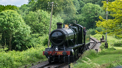 SVR 01 June 2017 (45) (BaggieWeave) Tags: worcestershire shropshire svr severnvalleyrailway heritagerailway vintage steam steamengine steamlocomotive steamtrain gwr greatwesternrailway 280 28xx highley 2857