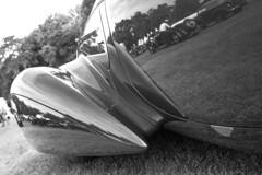Masterpiece reflection (NaPCo74) Tags: concours délégance elegance élégance suiss swiss switzerland chateau de coppet geneve geneva genéve french classic car historic carrosserie canon eos 700d delahaye 135 m 135m roadster figoni falaschi figonifalaschi