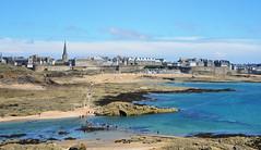 Saint-Malo (BrigitteChanson) Tags: saintmalo illeetvilaine bretagne breizh brittany panorama mer sea