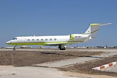 XA-SKY LMML 07-07-2017 (Burmarrad) Tags: airline private aircraft gulfstream givsp registration xasky cn 1487 lmml 07072017