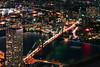 NYC at Night (SpiderZhou) Tags: nyc night oneworldobservatory city brooklyn bridge 纽约 城市 夜景 世贸 布鲁克林桥