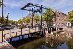 Taanbrug (Rob Holmer Fotografie) Tags: langehaven schiedam taanbrug holland visitholland sdam ophaalbrug gracht canal nederland zuidholland bridge