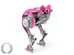 The Running Flamingo (BobDeQuatre) Tags: lego moc scifi runner mech