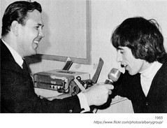 WTRY DJ Lee Gray interviews Bill Wyman (albany group archive) Tags: albany ny history rolling stones concert palace theater 1965 wtry dj lee gray interviews bill wyman 1960s radio old vintage photo photograph picture historic historical