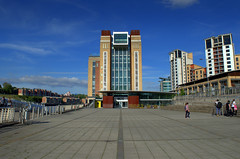 Baltic Centre for Contemporary Art (Tony Worrall) Tags: city capital centre street newcastle newcastleupontyne geordie tyne northeast north british britain scene uk place visit tour tyneandwear town location england east tyneside metropolitan county country region state unitedkingdom architecture modern new iconic gateshead riverside bluesky building built balticcentreforcontemporaryart baltic contemporary art
