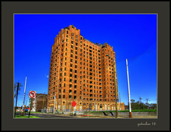 Formerly The Lee Plaza Hotel (the Gallopping Geezer '4.8' million + views....) Tags: ruins abandoned decay decayed weathered worn faded derelict building structure detroit mi michigan canon 5d3 24105mm geezer 2016 hotel rooms leeplaza roomforthenight roomtorent rent