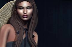 1.59 (Carley Benazzi) Tags: entwined bound bento boundbox catwa letre events couture coco hair model mesh makeup studioexposuremakeup lipgloss accessories ebony urban