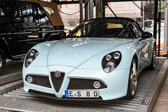 Alfa Romeo 8C Spyder (aguswiss1) Tags: alfaromeoc8spyder alfa romeo 8c spyder supercar car sportscar limitededition fastcar racer cruiser cabrio roadster cabriolet luxurycar