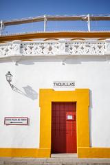 Plaza de toros à Séville (Jonathan Haider) Tags: andalousie seville espagne plazadetoros andalucía espana sevilla spain arenesmaestranzacorrida