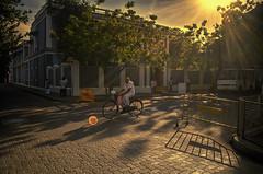 Sunrise ride.... (Ivon Murugesan) Tags: pondicherry puducherry cycle india tamilnadu chennai pondicherrytours pondicherryheritage heritagebuildings bicycle transportation buildings heritage colonel frenchbuildings pondicherrytouristplaces pondicherrytourism pondicherrystreets streetphotography streetsofindia viatortravel yourshot natgeo nationalgeography people places ivonmurugesan letsexplore street streets sunrise sun sunlight sunrays
