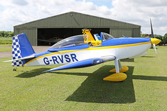G-RVSR (QSY on-route) Tags: grvsr lincoln aero club mid summer fly in sturgate 04062017