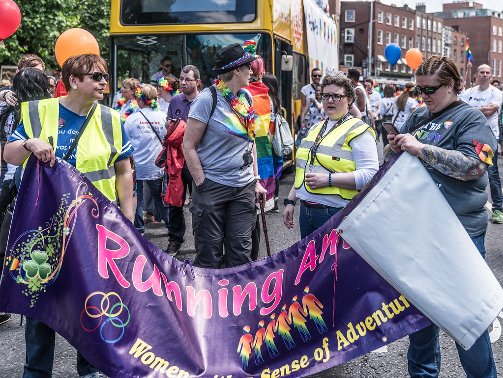 LGBTQ+ PRIDE PARADE 2017 [STEPHENS GREEN BEFORE THE ACTUAL PARADE]-129857