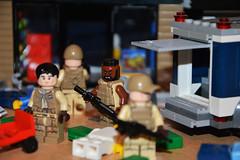 Sector 1, Clear! (LegoInTheWild) Tags: moc lego minifigure afol sidan brickarms bricks army military legocity