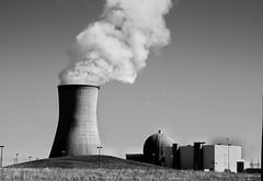Steam (timvandenhoek1) Tags: callawaynuclearplant coolingtower steam reactor reformconservationarea blackandwhite countryside midwest ruralmissouri missouri landscape industrial electricity utility steamcloud